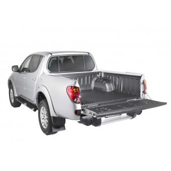 Вкладыш в кузов для Mitsubishi L200 пластиковая для двойной кабины под кунг (для короткой базы-138 см)