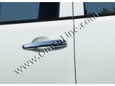 Хромированные накладки на дверные ручки Mitsubishi L200