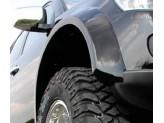 Расширители колесных арок к-т для double cab с 2010 /05