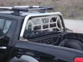 Защитная дуга в кузов 70 мм с декоративной решеткой