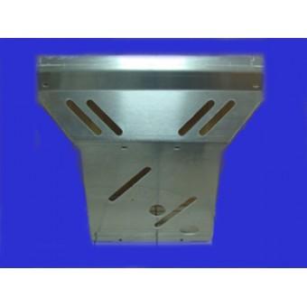 Защита картера алюминиевая 5 мм  (780 х 770 мм)