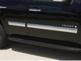 Хромированные накладки Chevrolet Tahoe на двери