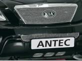 Решетка в передний бампер для Kia Sorento нижняя из 3 частей