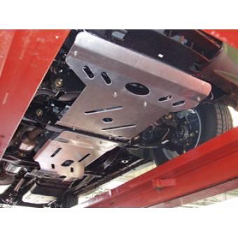Защита картера алюминиевая 5 мм  (670 х 490 мм)