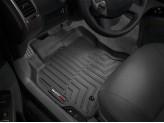 Коврики WEATHERTECH для Toyota HiLux передние, цвет черный для мод. до 2012 г.