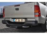 Задняя подножка для Toyota HiLux с логотипом,полир. нерж. сталь, изображение 3