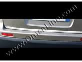 Хромированная накладка для Nissan Qashqai на нижнюю кромку крышки багажника (полир. нерж. сталь), изображение 2