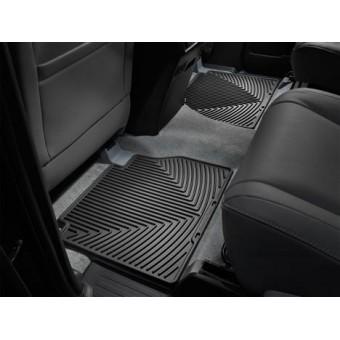 Коврики WEATHERTECH для Toyota TUNDRA задние, резиновые, цвет черный.