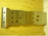Защита картера алюминиевая (1500 x 650 мм,толщина листа 5 мм), изображение 2