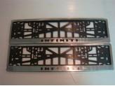 Рамка под номер для Subaru Tribeca B9 с логотипом