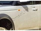 Хромированные накладки на дверные ручки Land Rover Freelander II