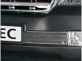 Решетка в бампер для Toyota Landcruiser 200 из 2-х частей