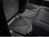 Коврики WEATHERTECH для Toyota Sequoia задние, резиновые, цвет черный