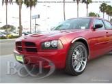 Хромированные накладки для Dodge Charger на колёсные арки из 4 ч.