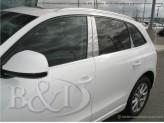 Хромированные накладки на дверные стойки Audi Q5