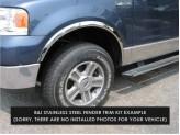 Хромированные накладки для Kia Sorento на колёсные арки из 4 ч.