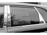 Хромированные накладки на дверные стойки Kia Sorento