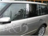 Хромированные накладки на дверные стойки Range Rover VOGUE