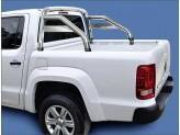 """Защитна дуга в кузов с логотипом""""Amarok"""" 70 мм, полир. нерж. сталь"""