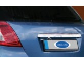 Накладка над номером на крышку багажника, нерж. HB