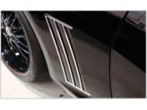 Хромированные накладки для Chevrolet Camaro на задние воздуховоды полир. нерж. сталь