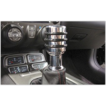 Хромированные ручка КПП для Chevrolet Camaro (полированный алюминий)