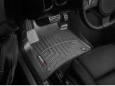 Коврики WEATHERTECH для Volkswagen Touareg передние в салон, цвет черный
