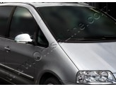 Хромированные накладки на зеркала Volkswagen Sharan