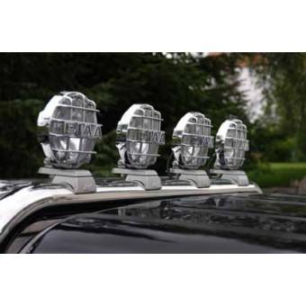 Лампы дальнего света PIAA520SMR H3-55 для Ford Ranger T6 с установочным комплектом 113713P (устанавливается только на дугу 76 мм, комплект из 4-х шт)