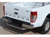 """Задняя защита для Ford Ranger T6 """"U-SPECIAL"""" 70 мм полир. нерж. сталь"""