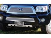 Комплект решеток для Toyota 4 Runner, полир. нерж. сталь 2 шт.