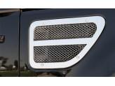 Комплект решеток на воздуховоды для Range Rover Sport, полированная нерж. сталь