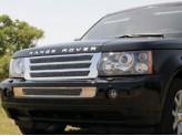 Решетка радиатора для Range Rover Sport, полированная нерж. сталь.