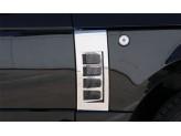 Решетки на воздуховоды для Range Rover VOGUE, полир. нерж. сталь