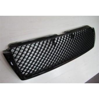 """Решетка радиатора для Toyota Landcruiser Prado 150, стиль """" BENTELY"""" (цвет черный)"""
