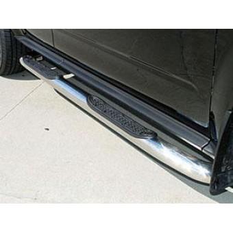 Пороги на Toyota RAV4 с площадкой (длинная база)