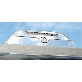 Хромированные накладки для Hummer H3 на крепление багажника, полир. нерж. сталь