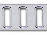Хромированная решетка для Hummer H2 переднего бампера (2003-2009), изображение 4