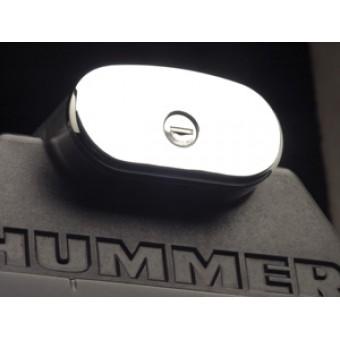 Хромированные боковые накладки из 4 ч. (алюминий с тройным хромовым покрытием)