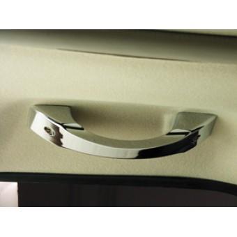Хромированные ручки для Hummer H2 в салон из 5 шт (авиационный алюминий с тройным хромовым покрытием)