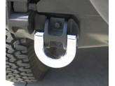 Хромированные буксировочные кольца для Hummer H2