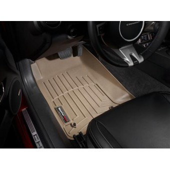Коврики WEATHERTECH для Chevrolet Camaro передние, цвет бежевый