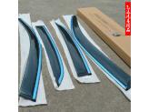 Дефлекторы боковых окон CNT4X4 для Lifan X60, темные (акрил), изображение 2