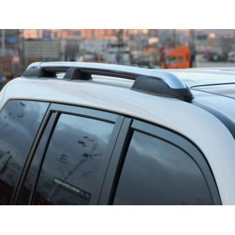 Комплект хромированных рейлингов для Toyota Landcruiser Prado 150 (до рестайлинга)