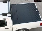 """Крышка для Nissan Navara D 40 """"ROLL-ON"""" цвет черный (электростатическая покраска), изображение 4"""