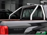 Защитная дуга в кузов пикапа 60 мм полир. нерж. сталь