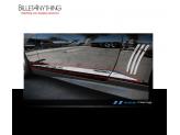Хромированные накладки Chevrolet Camaro из 6 частей (нерж. сталь, вертикальные накладки на задние крылья в к-т не входят), изображение 2