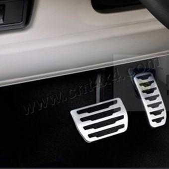 Комплект алюминиевых накладок на педали 3 шт (для механической коробки)