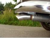 Насадка на глушитель 76,1 мм,полир.нерж. сталь., изображение 2