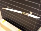 Накладка на нижнюю кромку крышки багажника